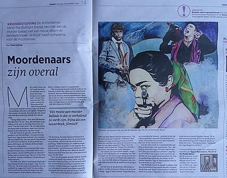 bullfight krant Trouw..JPG