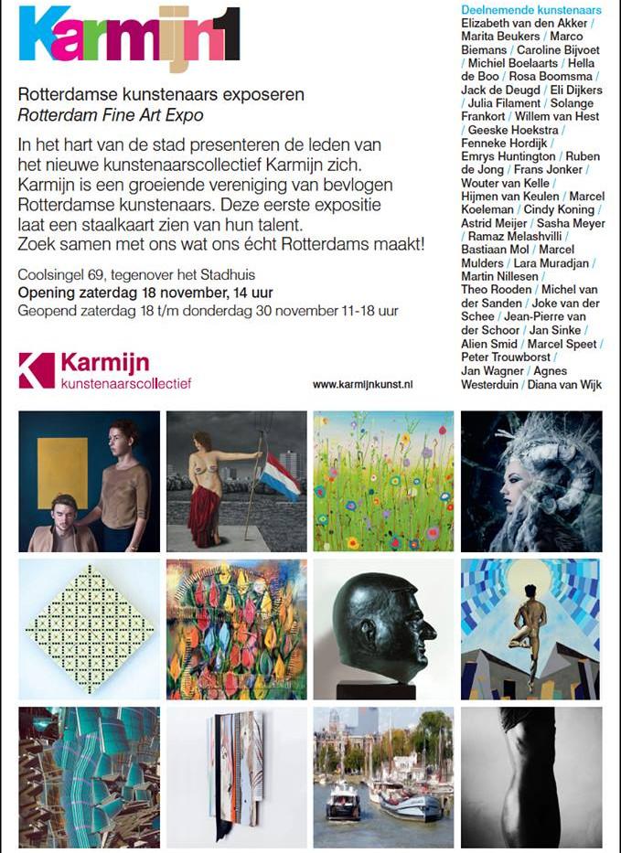 Karmijn expo Coolsingel