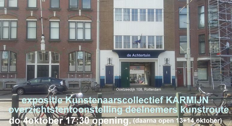 Kunstroute 2018 Kralingen