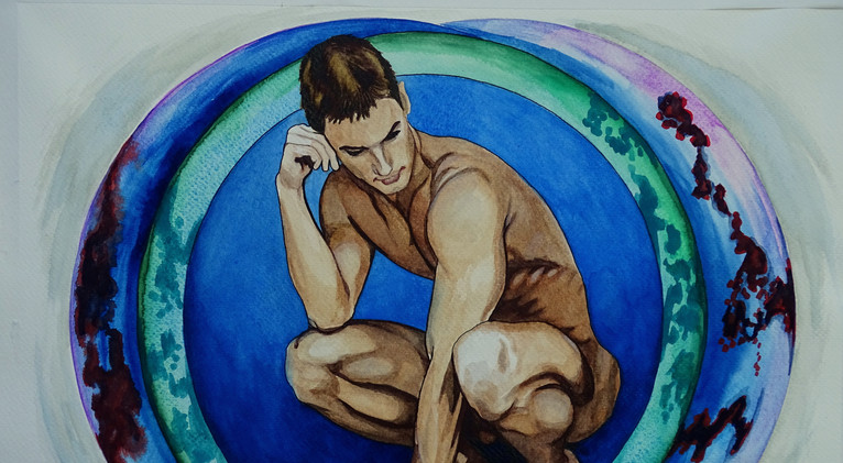 Untitled male nude (2019)