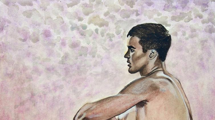 Male Nude ,posing (2018)