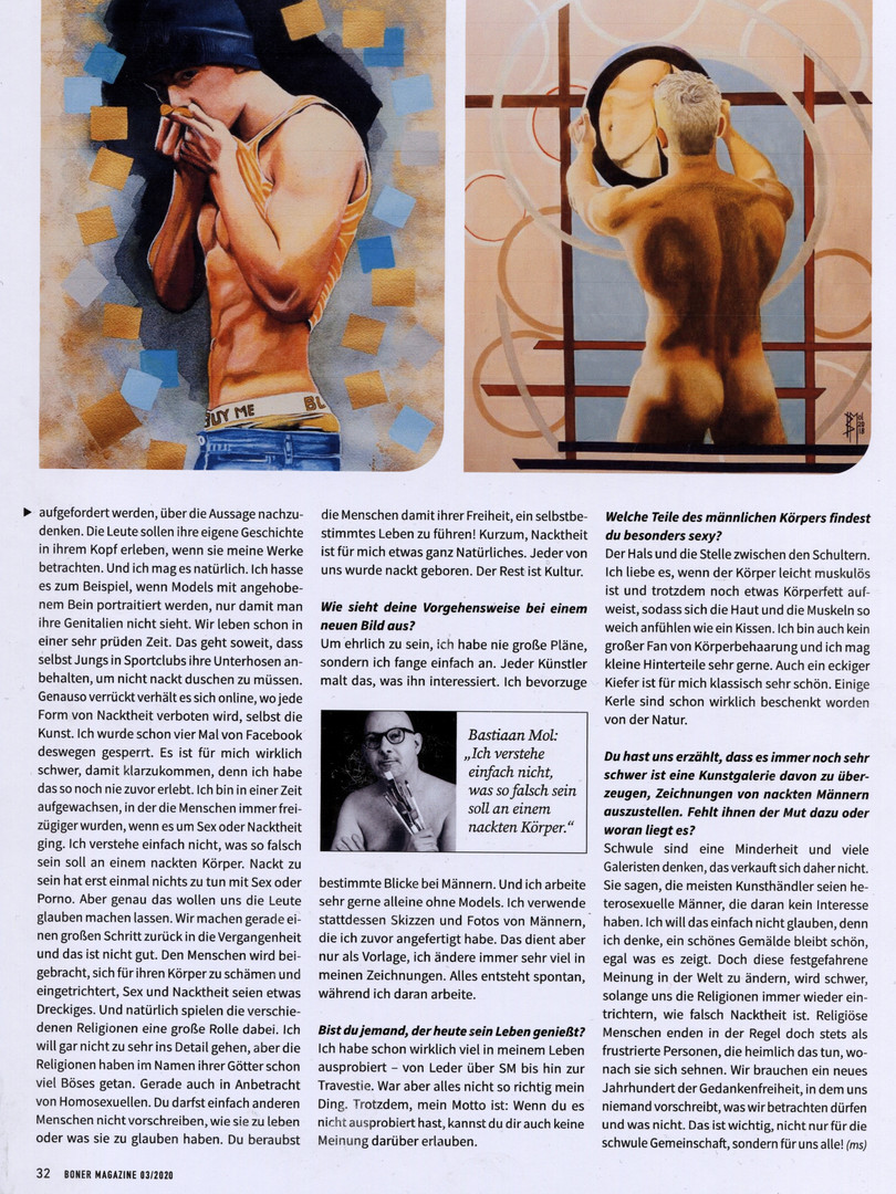 Interview Bonermagazine page 3