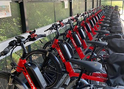 Hilti e-bike fleet in Schaan, Liechtenstein