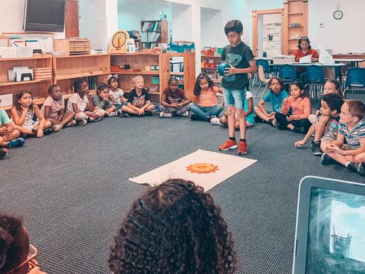 Montessori Birthday Celebrations!