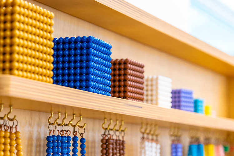 montessori-bead-chain-lesson-for-math-in