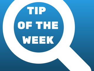 Tip of the Week #2