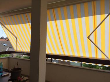 Tenda da sole con sensori pioggia