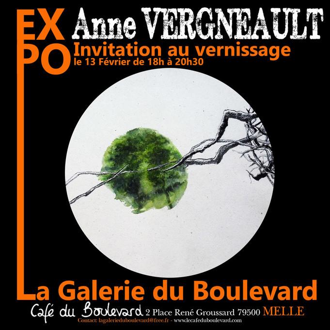 en Février du 13/02 au 15/03 à la Galerie du boulevard à Melle...