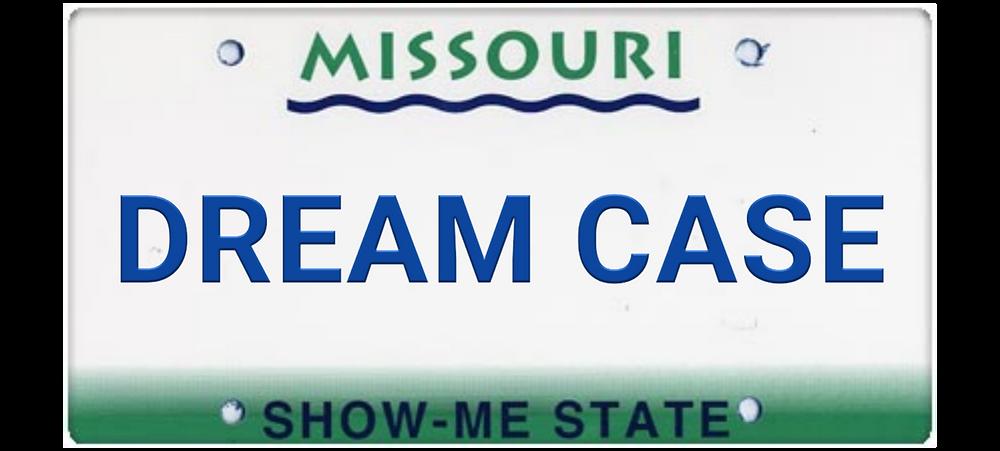 dream case license plate