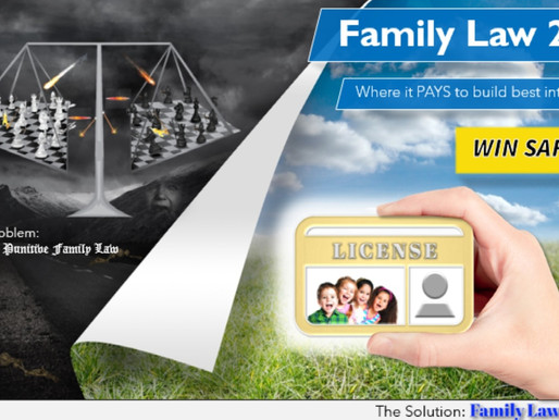 What Family Law 2.0 is not.