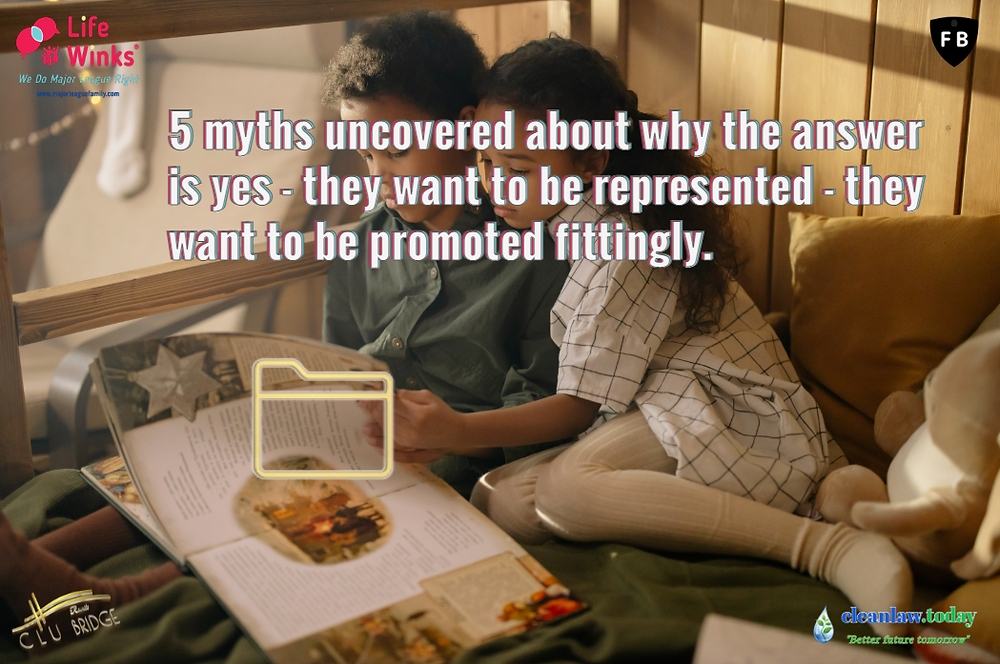 5 Myths Uncovered About why The Answer is Yes - they want to be represented