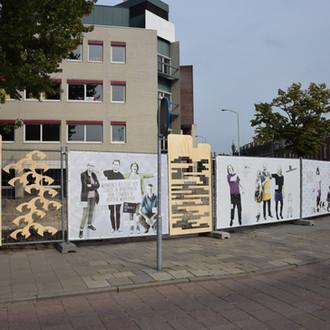 building fence for De Willem