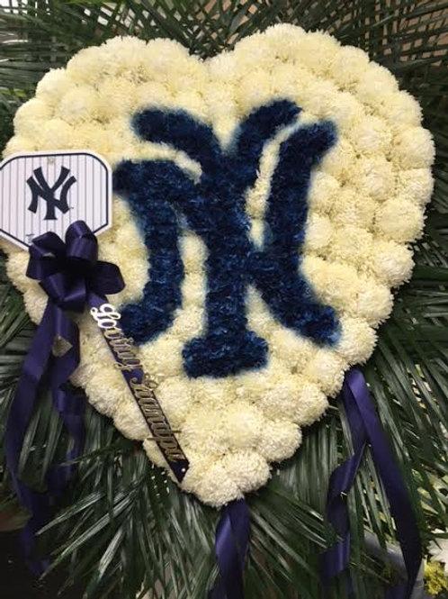 Yankee Logo Heart