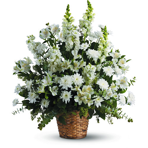 Wicker Basket of Whites
