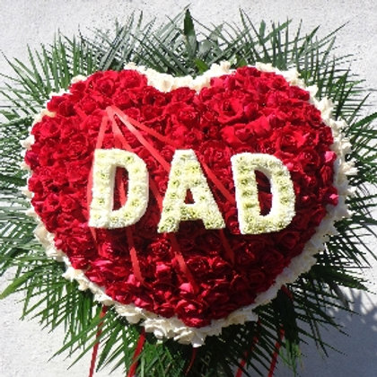 Mom or Dad Heart