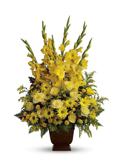 Mixed Yellow Friendship Urn