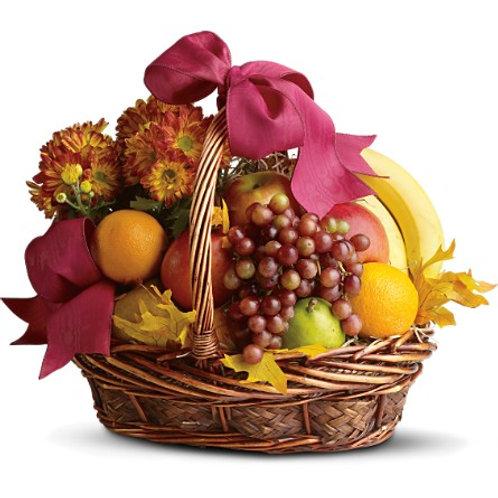 Autumn Delights Fruit Basket
