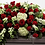 Thumbnail: Mixed Red & Green Casket Spray