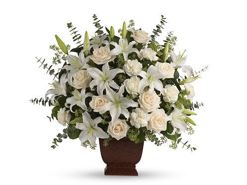 Mixed White Tribute Urn