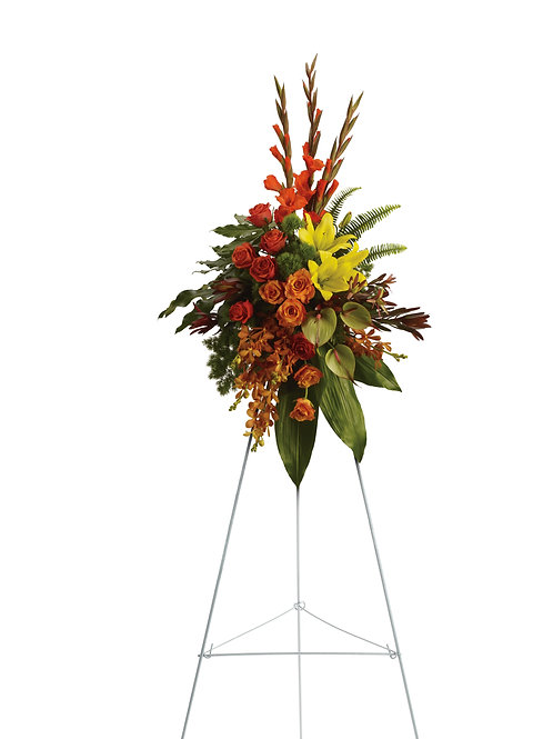 Mixed Brights Standing Spray