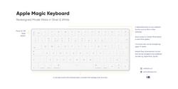 Apple Magic Keyboard RD Full