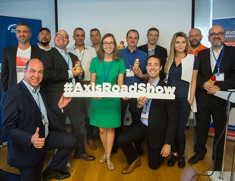 Axis Innovation Roadshow team