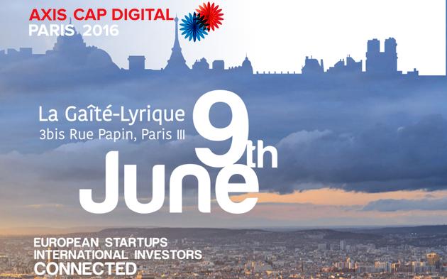 Axis Cap Digital Paris 2016