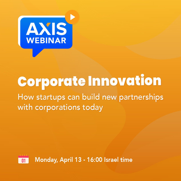 Corporate Innovation Webinar