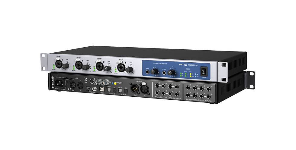 RME Fireface 802 60-Channel USB & FireWire Audio Interface