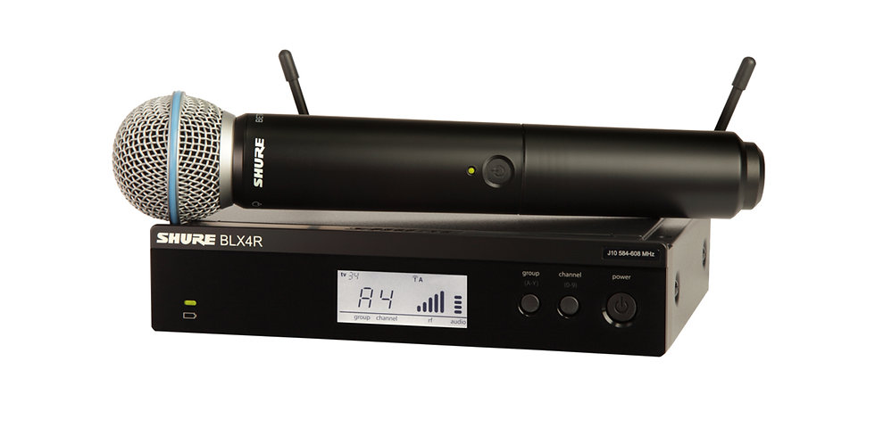 BLX24/B58 Wireless Vocal System with Beta 58A