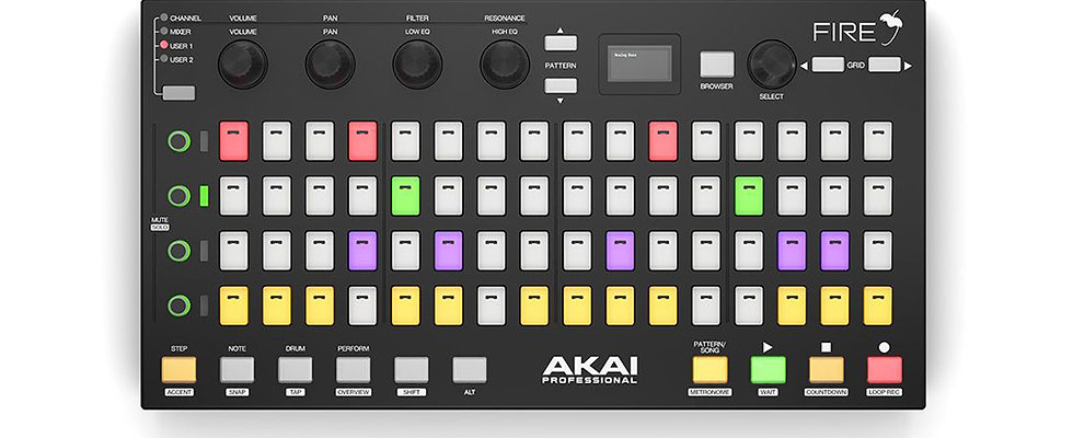 AKAI Professional Fire, USB MIDI controller for FL Studio