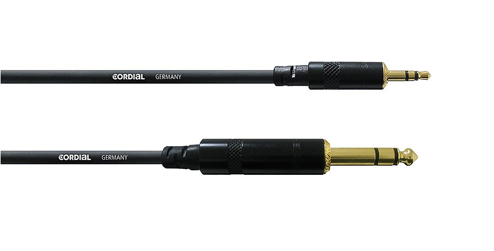 CORDIAL CFM 3 WV Professional Audio Balanced Cable - 3 mtrs