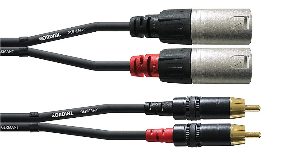 CORDIAL CFU 1.5 MC PROFESSIONAL AUDIO CABLE - 1.5 mtrs.