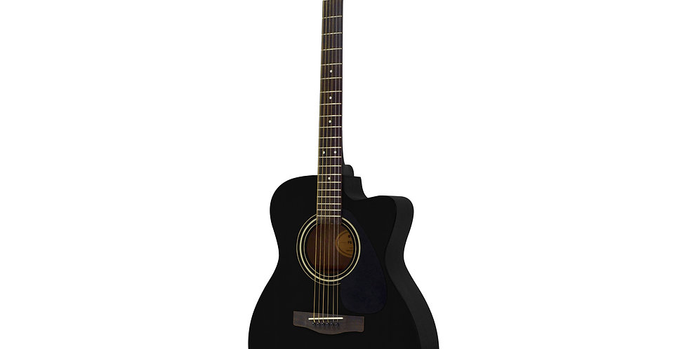 Yamaha FS100C Acoustic Guitar, Black