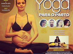 XI Curso de Formação de Professores em Yoga para o Parto em Pedra Bela/SP - Março e Abril/2020
