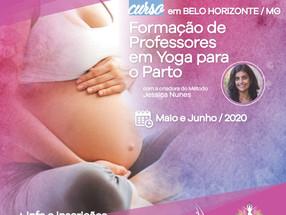 XII Curso de Formação de Professores em Yoga Para o Parto - Belo Horizonte/MG - Maio e Junho/2020