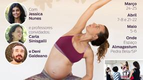 Curso de Formação de Professores em  Yoga para o Parto - 4 fins de semana de Março a Maio de 2018