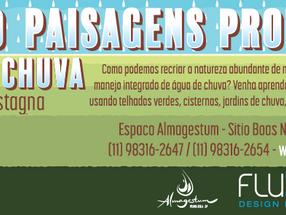 CURSO: Criando paisagens produtivas com água de chuva, com Guilherme Castagna - 16, 17 e 18/Jun/2017