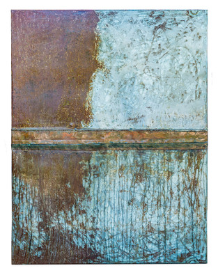 Copper and Steel Wall Art