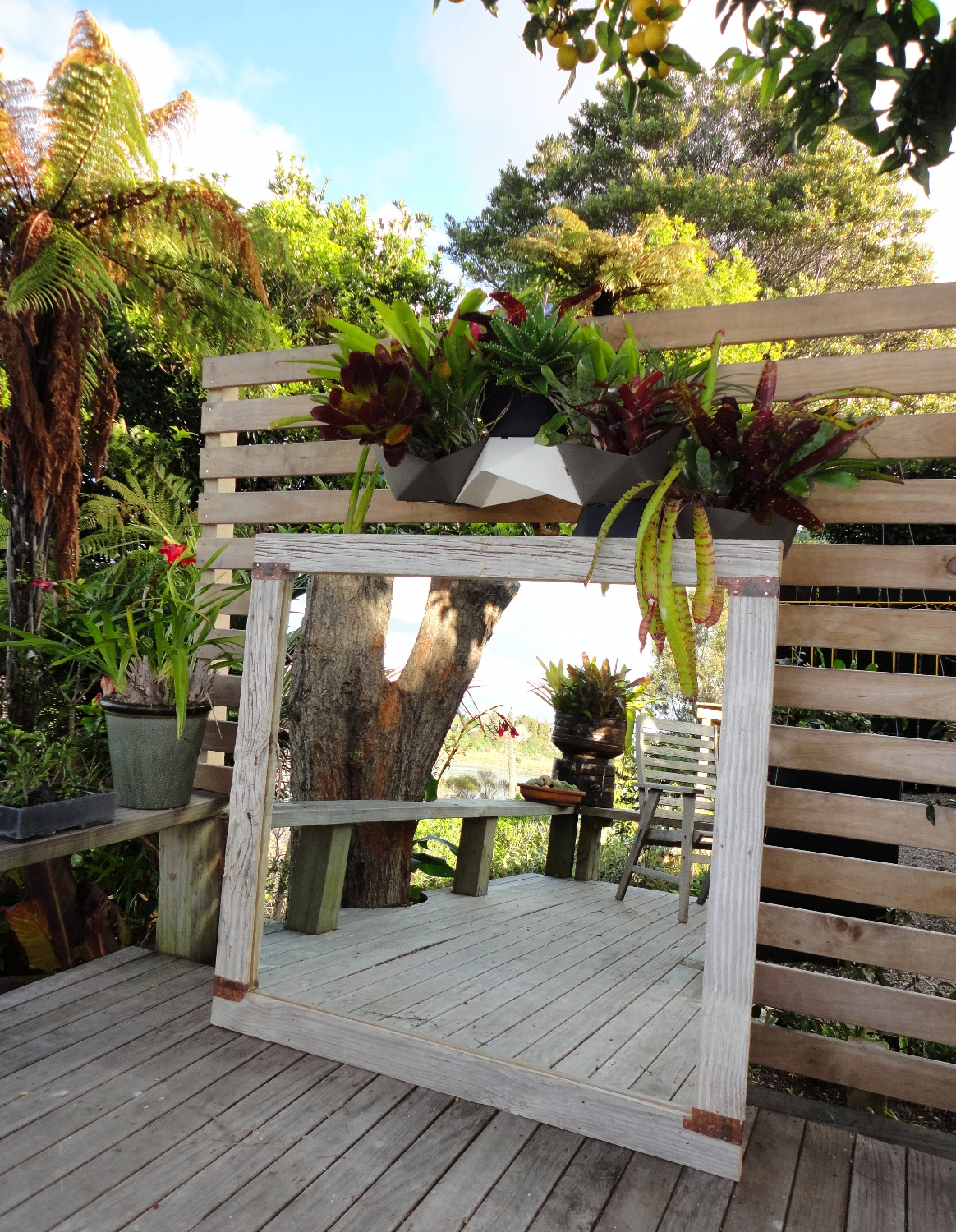 outdoor/indoor mirror