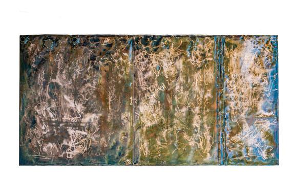 Copper Wall Art  - 1600mm x 800mm