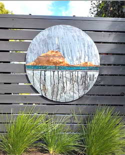 Copper and steel Mt Round outdoors
