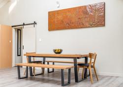 Large Copper Art Panel