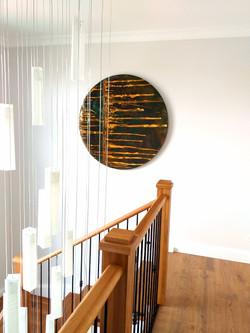 Copper Patina art circle 1