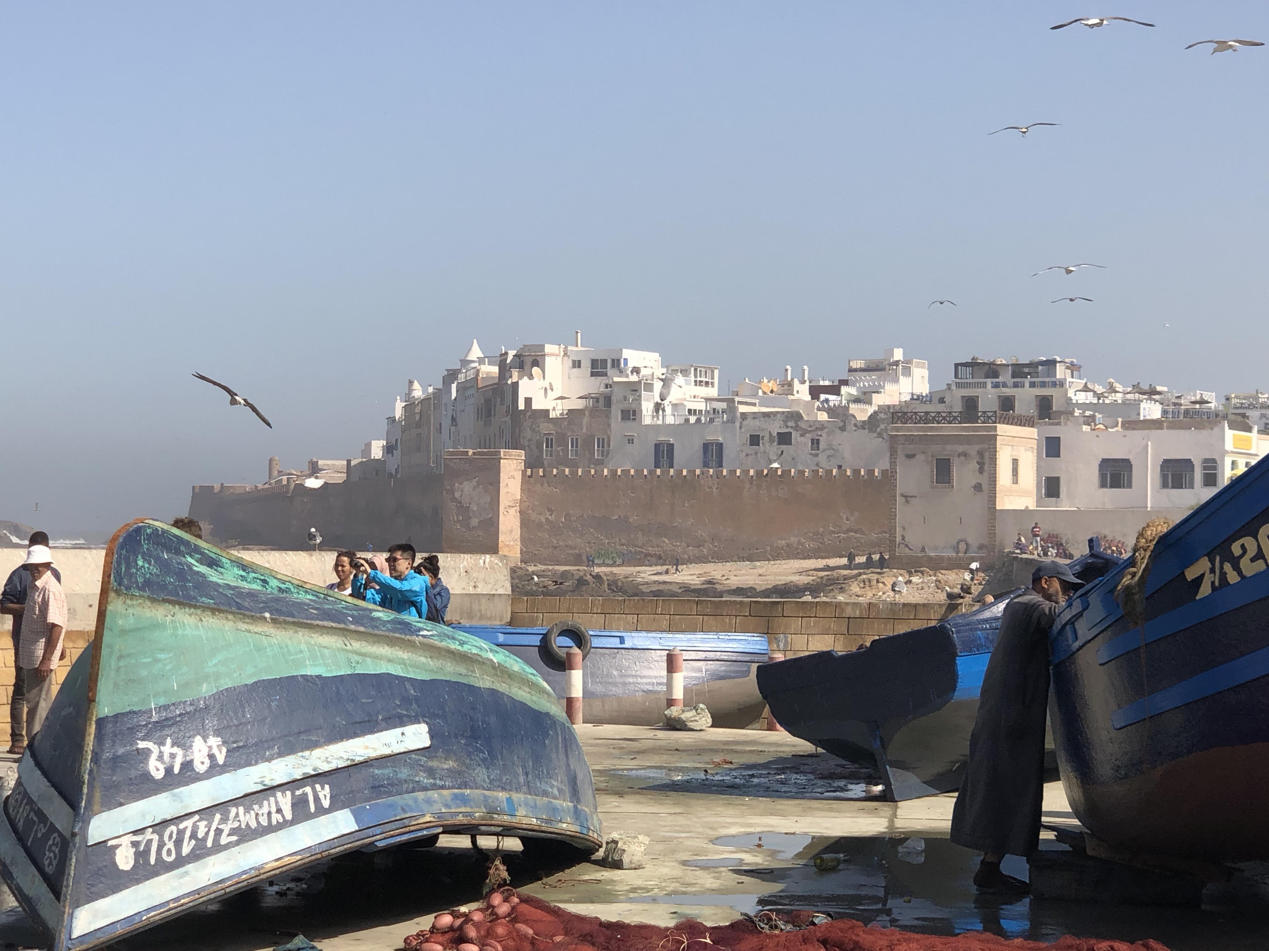 Essaouira vu du port