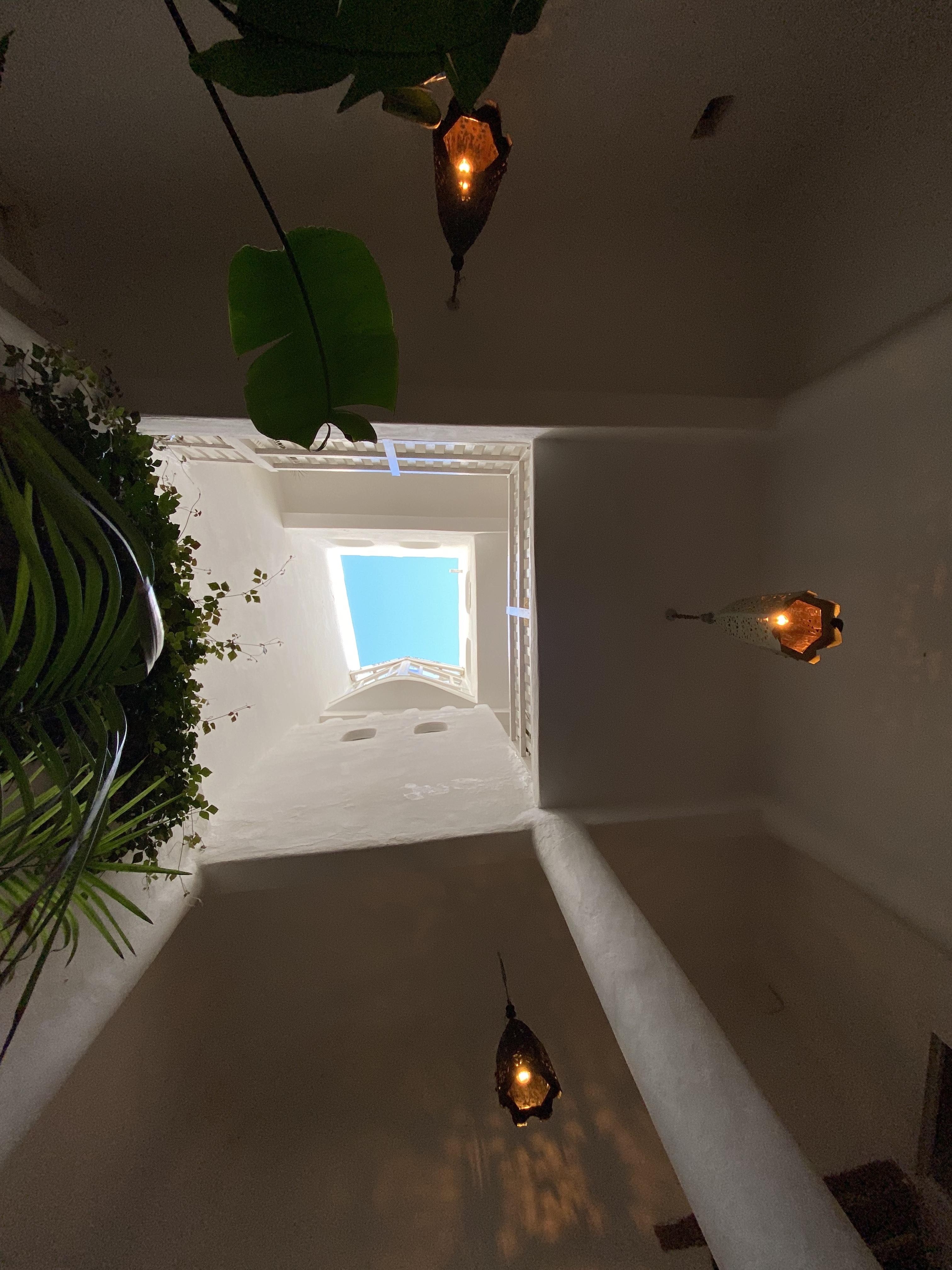 Vue du Patio sur les étages