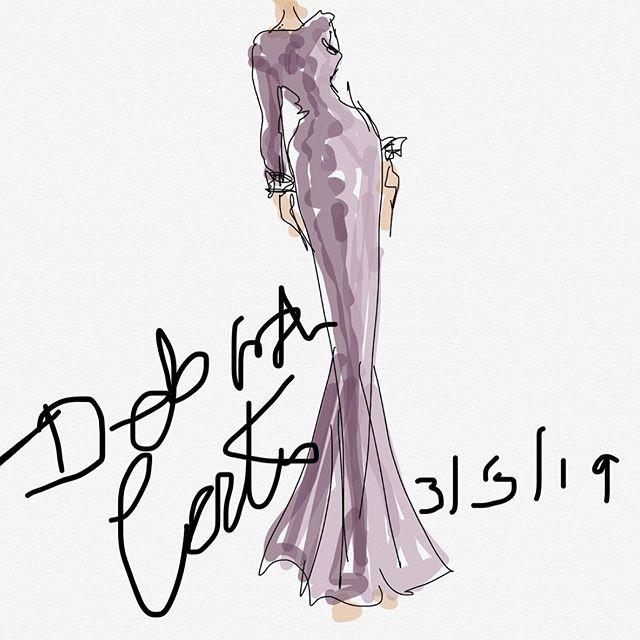 FASHION DESIGNER__#velvet #dress #desig