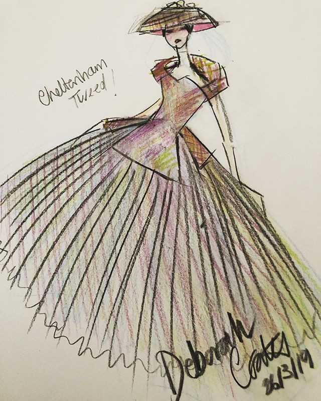 Fashion Designer__#races #cheltenham #t