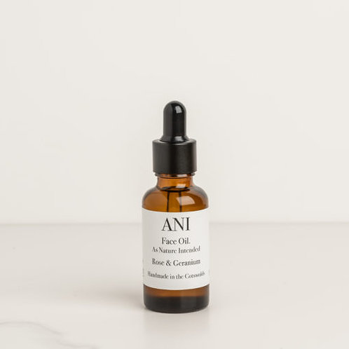 Rose and Geranium Face Oil