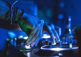 DJ Spinning